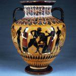 Древнегреческие вазы — описание и фотографии