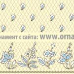 Орнамент для вышивки