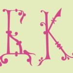 Две буквицы русского алфавита