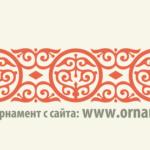 Русский орнамент вектор