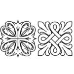 Растительные орнаменты разных эпох